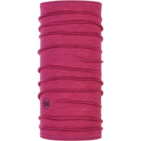Buff Lightweight 3/4 Merino Wool Neckwarmer purple multi stripes